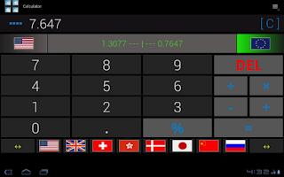Screenshot of Calculator