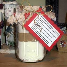 Gingerbread Biscuit Gift In A Jar