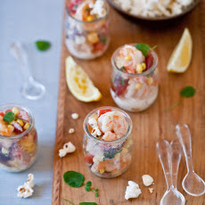Warm Summer Shrimp Salad