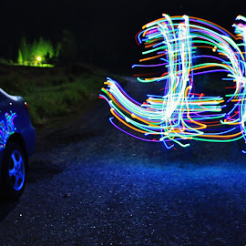 by Ryan Chornick - Abstract Light Painting (  )