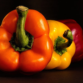 Peppers by Johnny Gomez - Food & Drink Fruits & Vegetables