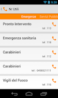 Screenshot of Orari Autobus Padova