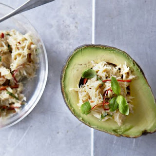 Crab Stuffed Avocado Recipes