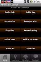 Screenshot of Akron Auto Auction