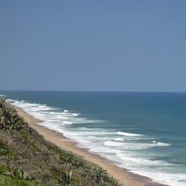Horizon Vs Shoreline by Richard Booysen - Nature Up Close Water (  )