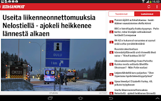 Screenshot of Ilta-Sanomat
