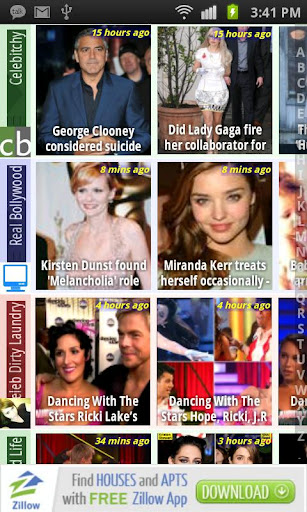 mobo-celebrity-news-gossip for android screenshot