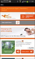 Screenshot of MindFit & Wellness Wakeup