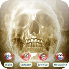 Angry Skull [SQTheme] for ADW