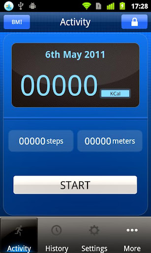 Calorie Counter Pedometer