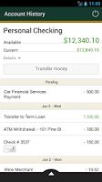 Screenshot of First Republic Mobile Banking