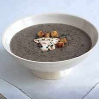 Wild Mushroom Soup with Madeira