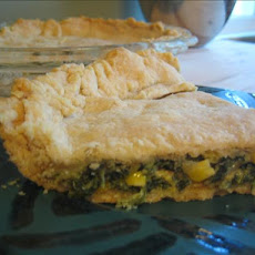 Spinach Corn Pie