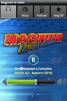 Screenshot of MAGNUM LA RADIO