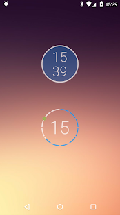 onca Clock Widget Screenshot
