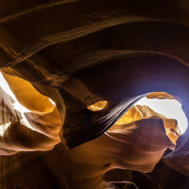 Upper Antelope Canyon  by Joe Porter - Landscapes Caves & Formations