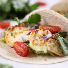 Grilled Halloumi Tacos With Mango Salsa