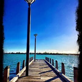 The dock. Mandurah by Kim Storey - Instagram & Mobile iPhone