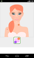 Screenshot of skin care games