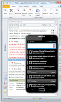 Screenshot of Android-Sync: Outlook USB Sync