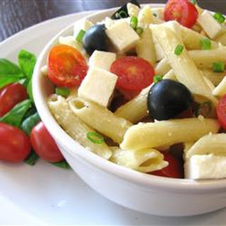 Penne, Tomato, and Mozzarella Salad