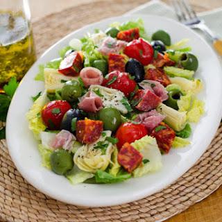 Antipasto Salad With Italian Dressing Recipes