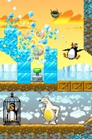 Screenshot of HD Crazy Penguin Catapult