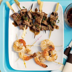 Ginger Beef Mini Skewers