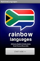Screenshot of Rainbow Languages South Africa