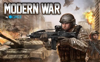 Screenshot of Modern War by GREE