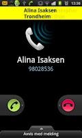 Screenshot of Hvem ringer?