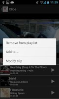 Screenshot of Cliptify