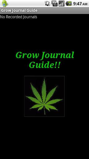 Grow Journal Guide