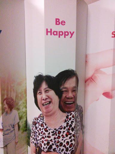 Be Happy Pillar