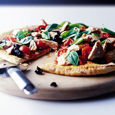 Ten-minute Tuna Pizza