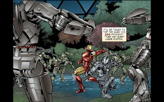 Screenshot of The Avengers-Iron Man Mark VII