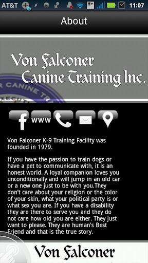 K9 Training with VonFalconer