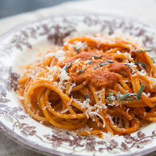 Roasted Red Pepper Pasta Sauce