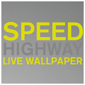 SPEED HIGHWAY Live Wallpaper icon