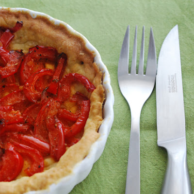 Red Bell Pepper Pie