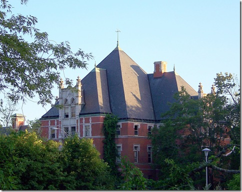 Big Building on Norwich State Hospital Grounds