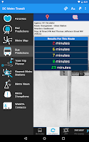 Screenshot of DC Metro Transit - Free