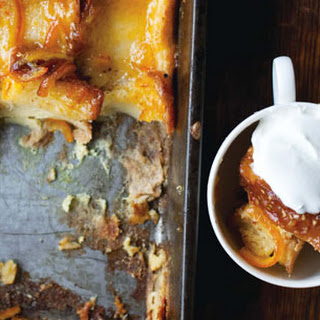 Orange-Marmalade Bread-and-Butter Pudding