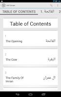 Screenshot of International Quran