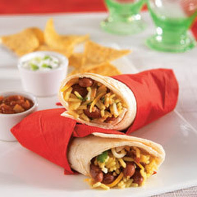 Dan's Chipotle Rice Burritos