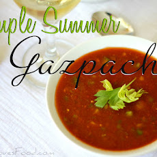 Simple Summer Gazpacho.