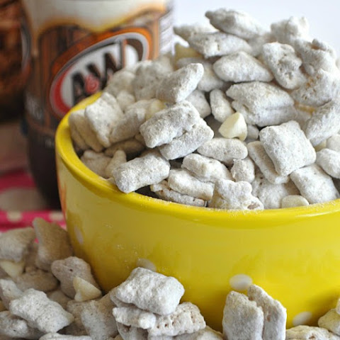 Root beer Float Muddy Buddies