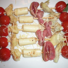 Party Antipasto Skewers