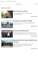 Screenshot of K-Zeitung
