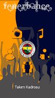 Screenshot of Fenerbahçe Takım Kadrosu